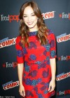 pKristin Kreuk: Beauty and the Beast Panel at New York Comic Con -05