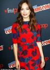 pKristin Kreuk: Beauty and the Beast Panel at New York Comic Con -07