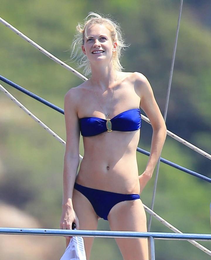 Poppy Delevingne – Wearing Bikini in Ibiza