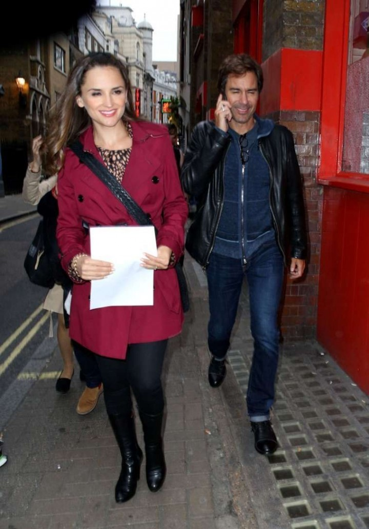 Rachael Leigh Cook at Ham Yard Hotel in SoHo