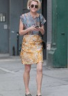 Rachael Taylor walking around Soho, NYC -07