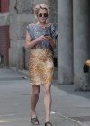 Rachael Taylor walking around Soho, NYC -15