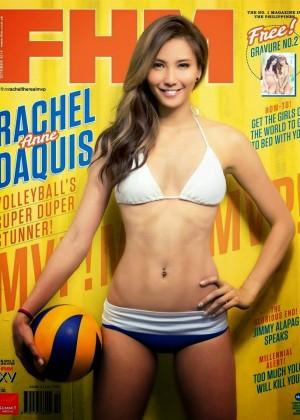 Rachel Anne Daquis - FHM Philippines Magazine (October 2014)