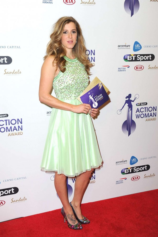 Rachel Atherton - BT Sport Action Woman Awards in London