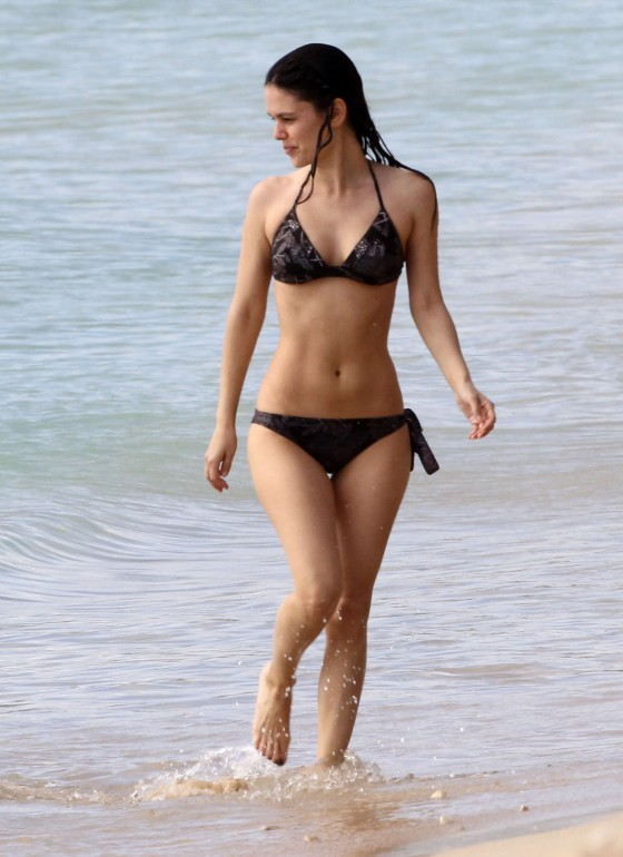 Rachel Bilson - Bikini in Barbados - April 2012