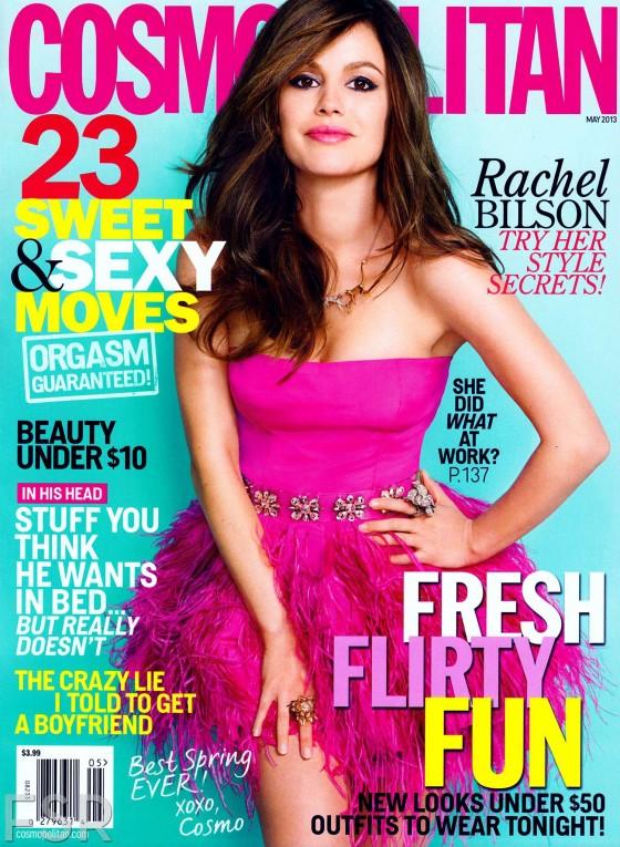 Rachel Bilson in Cosmopolitan Magazine – May 2013 -04