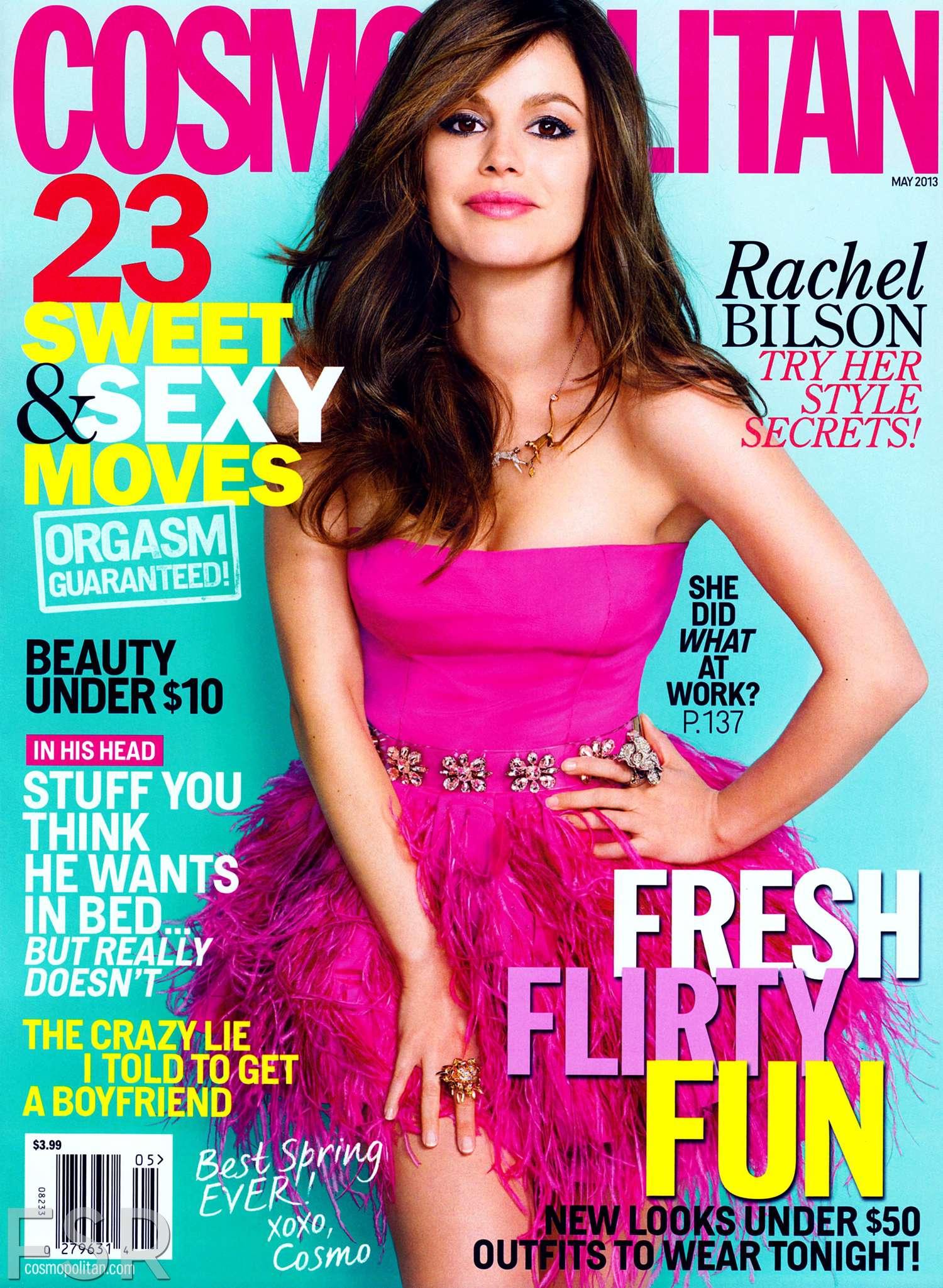 May 2013 Fashion Magazine Covers: Cosmopolitan Magazine (May 2013