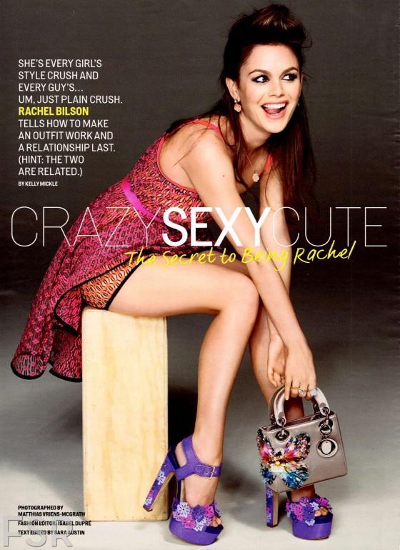 Rachel Bilson in Cosmopolitan Magazine – May 2013 -05