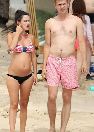 Rachel Bilson bikini in Barbados -01