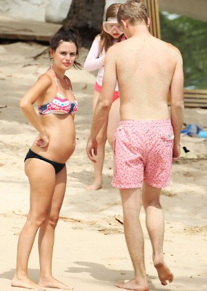 Rachel Bilson bikini in Barbados -06