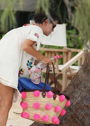 Rachel Bilson bikini in Barbados -18