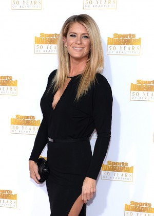 Rachel Hunter: 2014 SI Swimsuit Issue Celebration -01