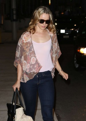 Rachel McAdams - Arrives at Airport in Toronto