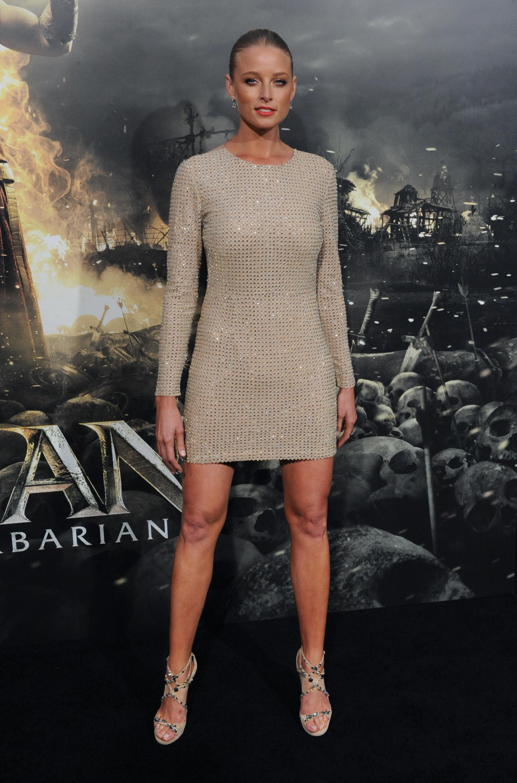 Rachel Nichols Conan The Barbarian Premiere in Los Angeles ...