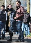 Rachel Nichols - on the set of Continuum -03