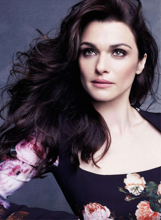 Rachel Weisz hot for Marie Claire UK Magazine