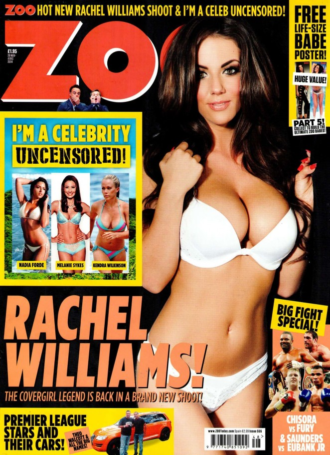 Rachel Williams - ZOO Magazine (November 2014)