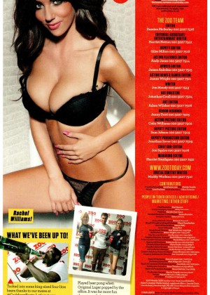 Rachel Williams: ZOO Magazine 2014 -03