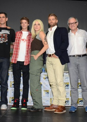 Rachelle Lefevre - Under The Dome panel at Comic-Con 2014