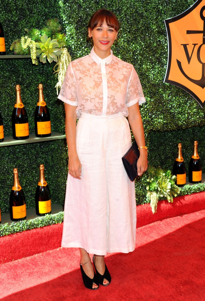 Rashida Jones - 5th Annual Veuve Clicquot Polo Classic in Pacific Palisades