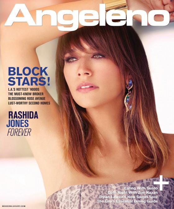 Rashida Jones for Angeleno Magazine 2012