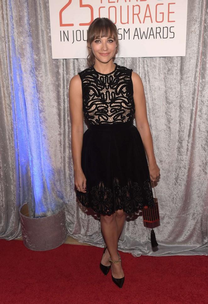 Rashida Jones - 25th Annual IWMF Courage In Journalism Awards in Beverly Hills