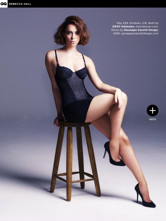 Rebecca Hall – GQ UK Magazine (May 2013)