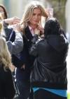 Rebecca Romijn - King and Maxwell Set photos-02