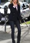 Rebecca Romijn - King and Maxwell Set photos-13