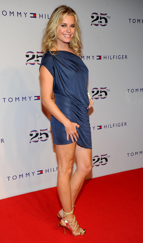 Rebecca romijn tommy hilfiger celebrates 25th anniversary - Rebecca romijn measurements ...