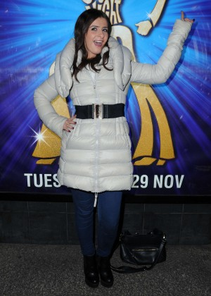 Rebecca Ryan - Saturday Night Fever Press Night in Manchester