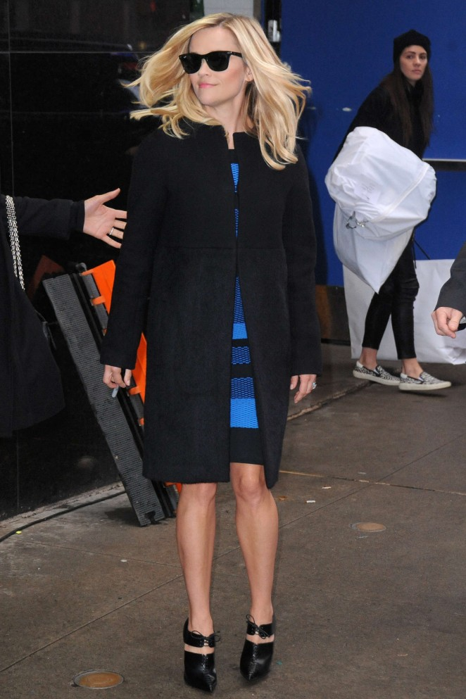 Reese Witherspoon - Arrives at Good Morning America in New York City