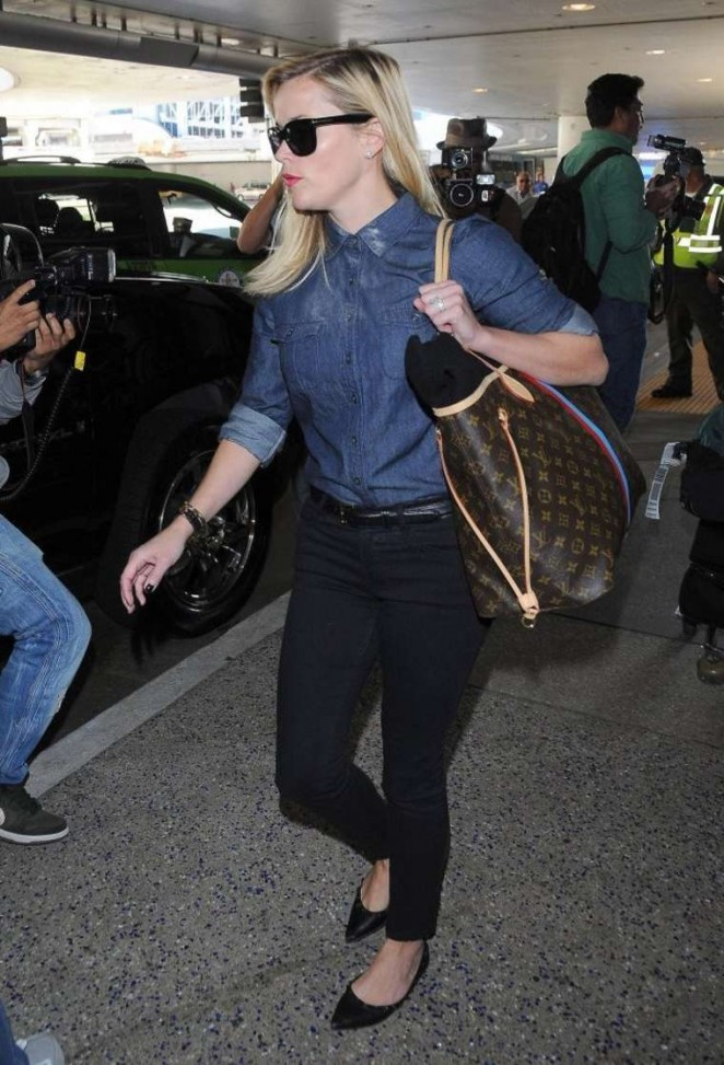 Reese Witherspoon at LAX Airport in LA