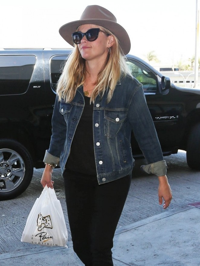 Reese Witherspoon at LAX Airport