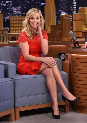 Reese Witherspoon - The Tonight Show With Jimmy Fallon in NYC