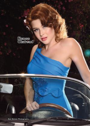 Renee Olstead - Bad Bones Magazine 2014