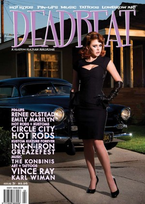 Renee Olstead - Deadbeat Magazine Cover #31 2014