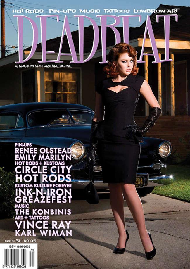 Renee Olstead - Deadbeat Magazine Cover #31 2014