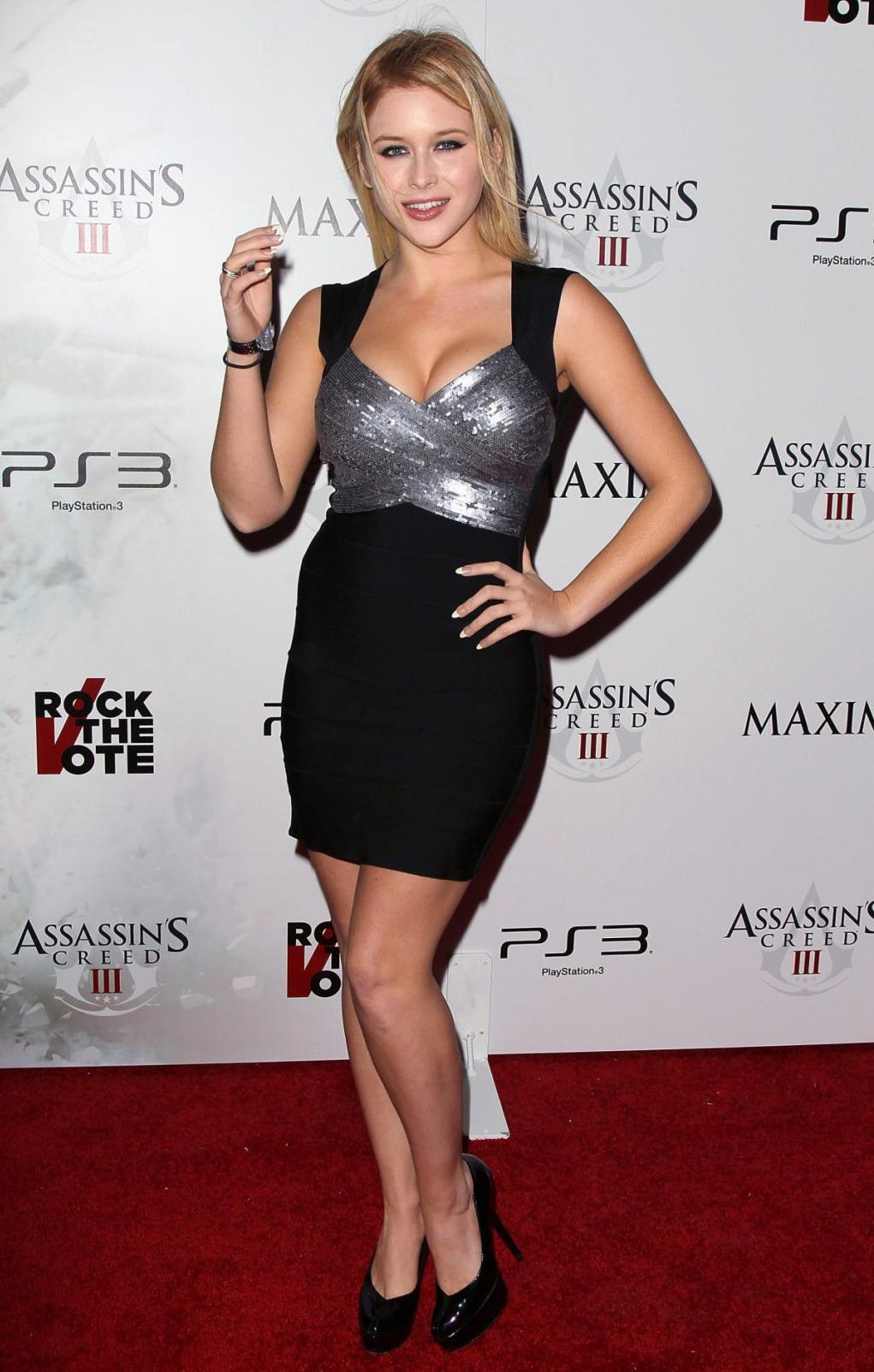 Renee Olstead Maxim Rock The Vote Party In LA GotCeleb