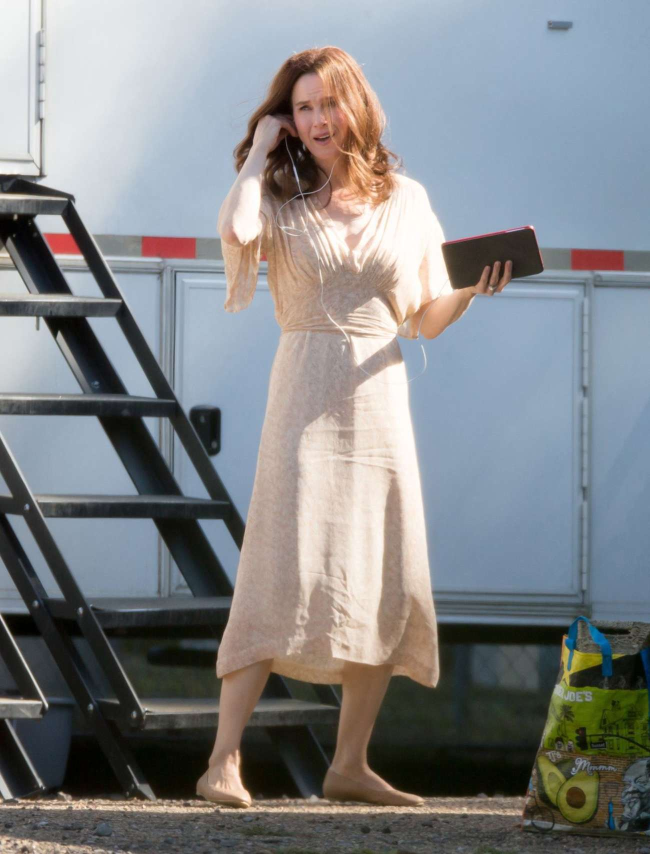 Renee Zellweger: Filming Her New Movie -24 - GotCeleb