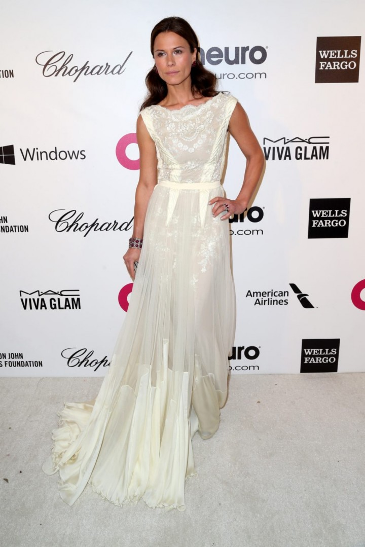 Rhona Mitra: 2013 Elton John AIDS Foundation Academy Awards Party -02