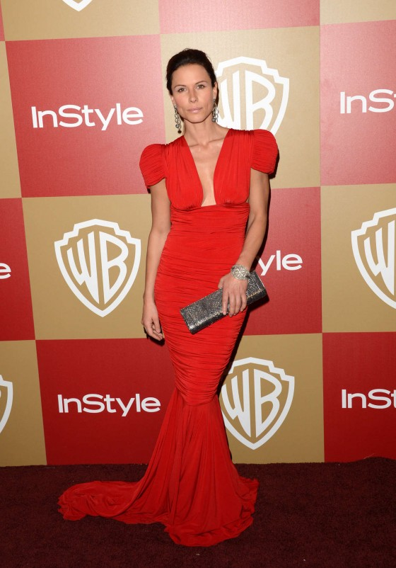 Rhona Mitra - Warner Bros InStyle Golden Globes Party in Beverly Hills