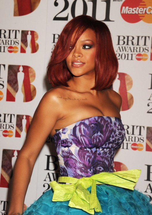 Rihanna – 2011 Brit Awards in London