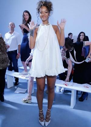 Rihanna - Adam Selman Fashion Show in NYC
