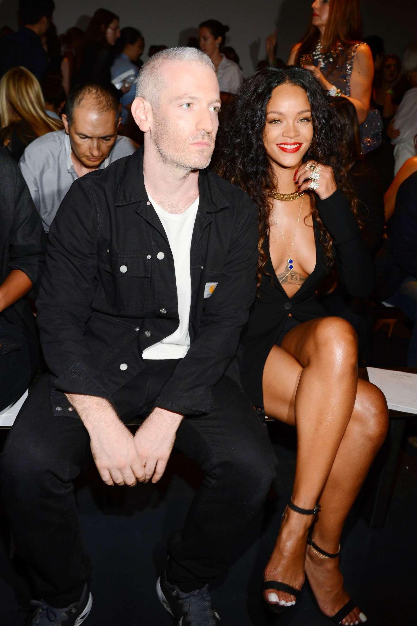 Rihanna 2014 : Rihanna: Altuzarra NY Fashion Show 2014 -02