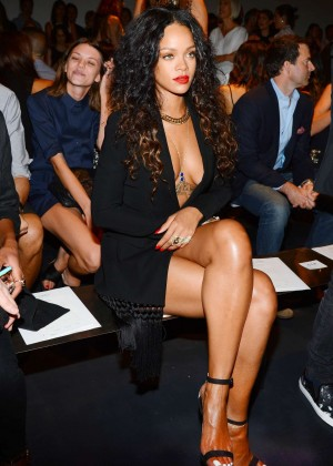 Rihanna - Altuzarra Fashion Show in NY