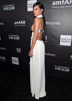 Rihanna: 2014 amfAR LA Inspiration Gala -05