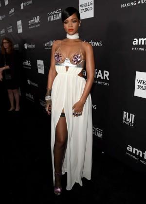 Rihanna: 2014 amfAR LA Inspiration Gala -07