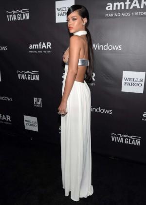 Rihanna: 2014 amfAR LA Inspiration Gala -09