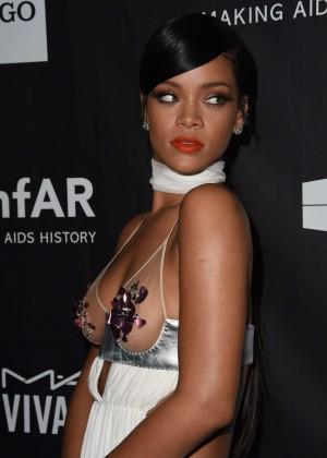 Rihanna: 2014 amfAR LA Inspiration Gala -10